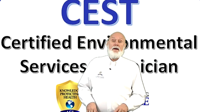 VIRTUAL Class – Certified Environmental Services Technician